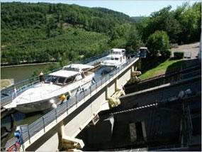 Schiffshebewerk saint louis arzviller - Plan incline de saint louis arzviller ...